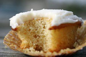 Vanilla Cupcake Bite