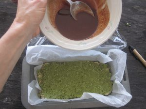 Matcha MIddle with Top pour
