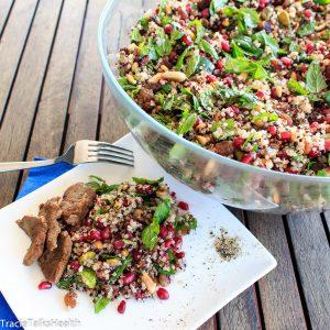 Lamb and Quiona Salad