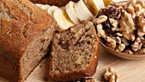 Banana and Walnut Bread